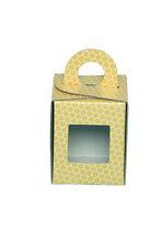 SCATOLA ASTUCCIO in cartone per vaso miele da 250 g (giallo) -OFFERTA 50 pezzi