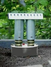 Greenhouse Anti Frost Paraffin Heater Double Twin Burner Chimney Large Apollo
