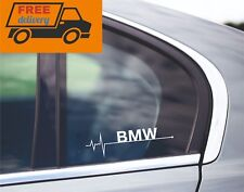 BMW is in my heart beat Blood stream CAR window sticker decal graphic Aufkleber
