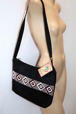 Absolutely Africa Brand Handmade Beaded Suede Shoulder Hangbag NEW