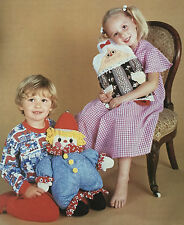 Sewing pattern Jean Greenhowe Granny bouteille d'eau chaude & Clown pyjama case RARE