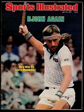 1979 Sports Illustrated Bjorn Borg No Label 7/16/79 16592