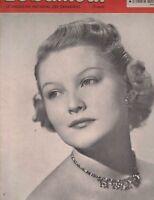 Le Samedi May 3 1952 Jeanne-d'Arc Charlebois Jackie Robinson Roy Campanella