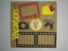 Vacation 1 #1005 premade scrapbook pages