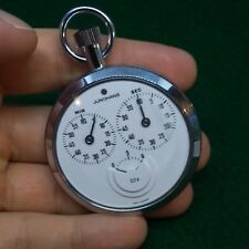 Junghans Vintage Mechanical 1/10th Stopwatch Watch Manual Wind