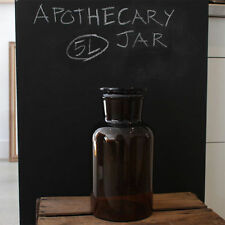 5000ml Apothecary Bottle (Amber, Wide  Mouth)