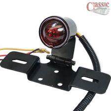 Custom Rear Stop Tail Lamp Black Finish suitable for Chopper Bobber Custom Cruis
