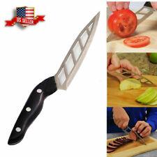 Forever Sharp Non-Stick Kitchen Chef Knife Steak Vegetable Fruit Knife Peeler US