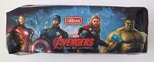 Marvel Avengers Assemble Boy's Kids Single Compartment School Pencil Case NWT