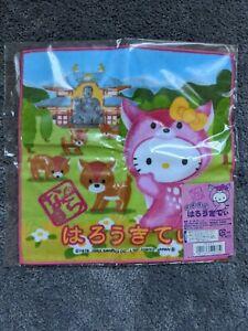 Sanrio Hello Kitty Nara Park towel new