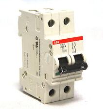 ABB American Breaker S282-Z25A Circuit Breaker 2P 25A 277V 480V MCB S282
