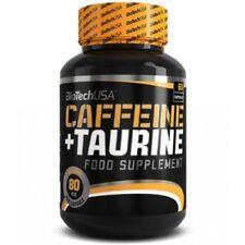 Biotech USA Koffein plus Taurin 60/120 Caps Fokus Ausdauer