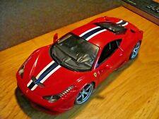 Burago Ferrari 458 Speciale 1:18  great shape