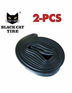 """Black Cat 2-Pack 20""""x 4"""" Inner Tube With Schrader Valve"""
