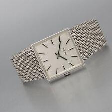 Tissot Vintage 585/14k Weissgold, Handaufzug Cal. 791, Milanaise Armband, 70,7g