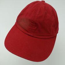 Gap Brand Blank Red Ball Cap Hat Adjustable S/M Baseball Adult