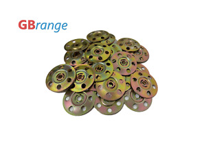 Insulation Washer Disc QTY 100 Pack 35mm  Galvanised Steel