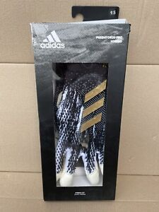 Adidas Predator 20 Pro Hybrid Goalkeeper Gloves Size 9.5 Black Gold Football