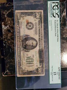 1934a 500 dollar bill