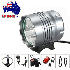 15000Lm 5X CREE XML T6 LED Head Front Bicycle light Bike Lamp Headlight Battery