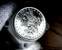 1881-o Blast White Unc Morgan Silver Dollar from a fresh Roll Will Grade Out