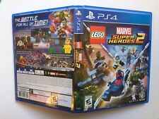 CASE ONLY NO GAME PS4 LEGO Marvel Super Heroes 2 Replacement Case