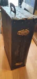 "7"" Vinyl Singles Record Flight Case DJ Collection Storage Box UK"