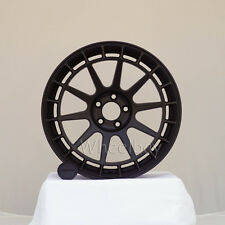 4  ROTA WHEEL RECCE 17X8 5X100 44 73 FLAT BLACK LAST SET
