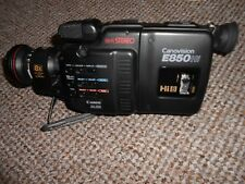 VINTAGE E850 Hi8 CANON CANOVISION CAMCORDER NOT SWITCHING ON PARTS OR REPAIR