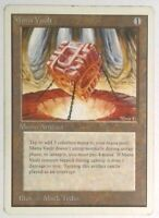 Magic the Gathering (mtg): Unlimited: Mana Vault - Rare - HP