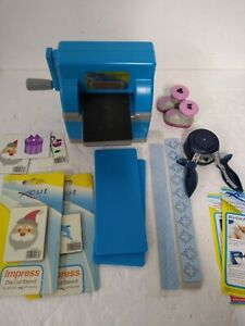 Xcut Impress Die-cutting Machine with 2 new Stencils Paper Crafting - DEB