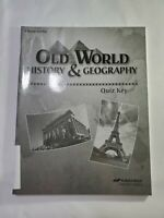 Abeka Old World History And Geography Teacher Quiz Key 5th grade