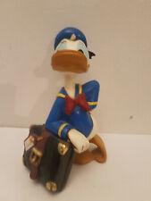 VINTAGE Disney - figure - Donald Duck with case