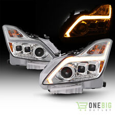08-15 Infiniti G37 G37X Coupe Chrome HID Models Projector Headlights