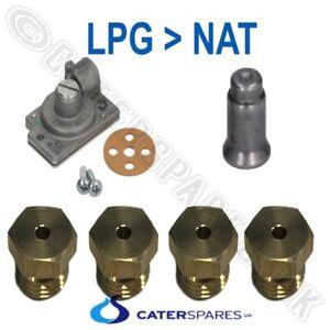 PITCO CHIP FRYER GAS CONVERT KIT FOR 35C+ 4 BURNER LPG LP TO NAT CONVERSION