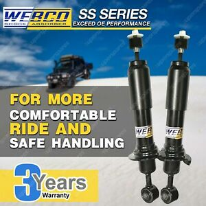 Pair Rear Webco Elite Shock Absorbers for SUBARU OUTBACK BP 2.5 AWD S/Wagon