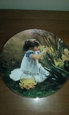 """Flowers for Mother"" The world of Zolan Plate Collection 1992 Mib Coa"