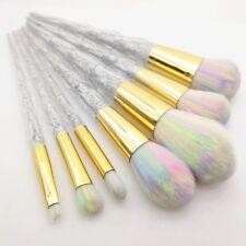 5 un. Multicolor Unicornio Maquillaje Pinceles y Brochas de sirena de contorno