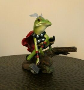 FROG OF THUNDER Diorama Statue Bust Sideshow Marvel KISS Thor #422