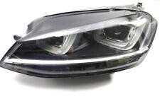 VW Golf 7 Faros Xenon Con Curva Delantero Izquierdo 5G1941043 LED Tagfahrl