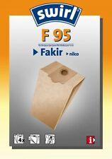 4 Staubsaugerbeutel Swirl geeignet für Fakir Org. Gr. 3270805