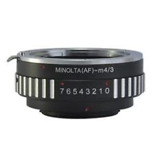 AF-M4/3 Adapter for Sony Minolta MA Lens to Panasonic Olympus Micro 4/3 Camera