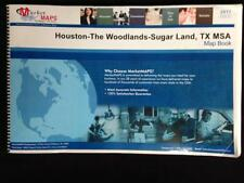 2017 MSA Map Book: Houston-The Woodlands-Sugar Land, TX, 1193 Pages, Market Maps
