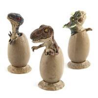 3pcs/set Jurassic World Park Dinosaur Egg Toy Baby Action Figure Super