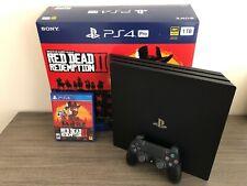Sony PlayStation 4 Pro Red Dead Redemption II Bundle 1TB Jet Black Console