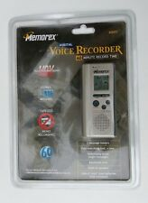 Memorex MB003 Digital Voice Activated Recorder Tapeless Dictaphone 60 Minutes