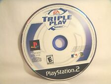 Triple Play Baseball (Sony PlayStation 2, 2001) - disc only