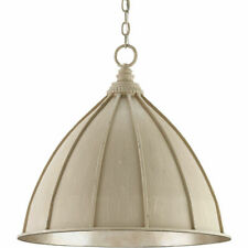 Brand New Currey & Company Wrought Iron Fenchurch Pendant Ceiling Fixture