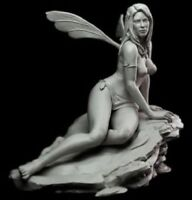 1/24 75mm Resin Figure Model Kit Sexy Fairy Pretty Girl High Quality Unpainted
