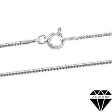Snake Chain Necklace - Real 925 Sterling Silver - from 16 to 30 inch